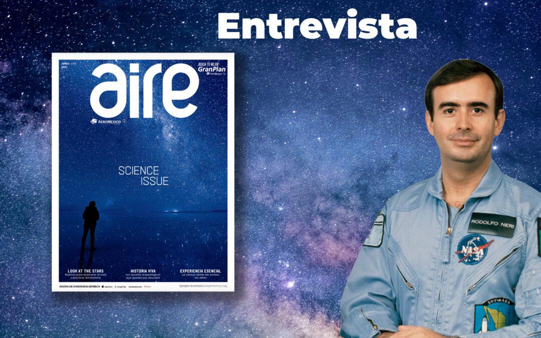 Entrevista en la revista Aire (Aeroméxico), junio 2021